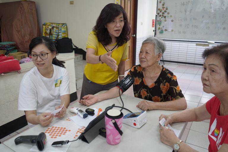來到台南的鯤鯓、金華、宅港社區,是與南臺科技大學USR團隊的跨校合作